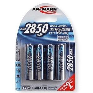 Image of   Ansmann Genopladelige batterier AA r06