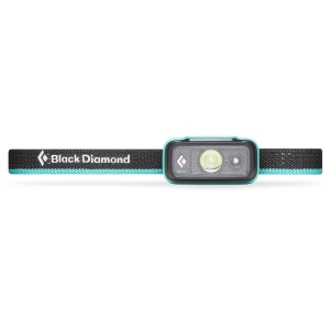 Image of   Aqua blue spot lite black diamond