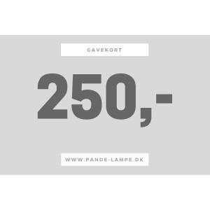 250 gavekort