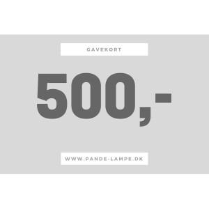 500 gavekort