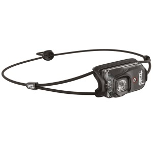 Sort bindi petzl