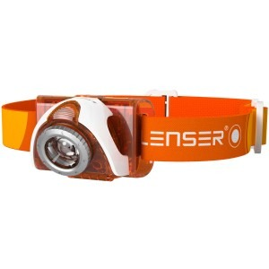 Image of   Orange SEO3 LED Lenser